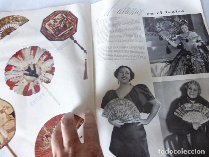 Coleccionismo de Revista Blanco y Negro: SUPLEMENTO REVISTA BLANCO Y NEGRO Nº 34 SOBRE ABANICOS JAPONESES DE MARFIL Y LACA DE MEDIADOS S.XIX - Foto 4 - 94009200