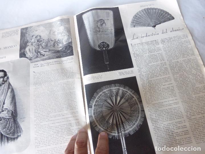 Coleccionismo de Revista Blanco y Negro: SUPLEMENTO REVISTA BLANCO Y NEGRO Nº 34 SOBRE ABANICOS JAPONESES DE MARFIL Y LACA DE MEDIADOS S.XIX - Foto 6 - 94009200