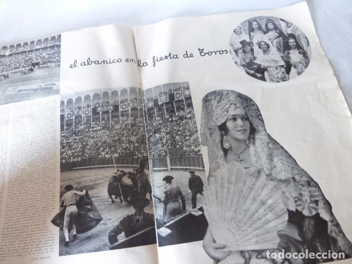 Coleccionismo de Revista Blanco y Negro: SUPLEMENTO REVISTA BLANCO Y NEGRO Nº 34 SOBRE ABANICOS JAPONESES DE MARFIL Y LACA DE MEDIADOS S.XIX - Foto 7 - 94009200