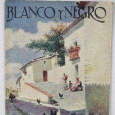 Coleccionismo de Revista Blanco y Negro: BLANCO Y NEGRO, REVISTA Nº 1722, 18 DE MAYO 1924. Lote 95864091