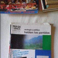 Coleccionismo de Revista Blanco y Negro: PUNTO Y HORA DE EUSKAL HERRIA Nº 435 1986. Lote 95946483