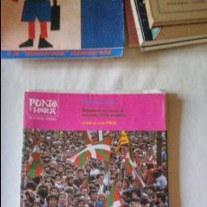 Coleccionismo de Revista Blanco y Negro: PUNTO Y HORA DE EUSKAL HERRIA Nº429 1986. Lote 95946551