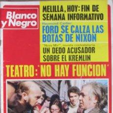 Colecionismo de Revistas Preto e Branco: BLANCO Y NEGRO 3276 1975 MELILLA, HUELGA DE ACTORES, DUKO POPOV, ALBERTO SORDI. Lote 96579483