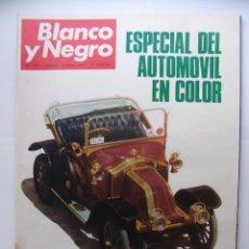 Coleccionismo de Revista Blanco y Negro: REVISTA BLANCO Y NEGRO Nº 3077. 24 DE ABRIL 1971. ESPECIAL DEL AUTOMOVIL EN COLOR. TDKR32. Lote 97982531