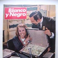 Coleccionismo de Revista Blanco y Negro: REVISTA BLANCO Y NEGRO Nº 2922. 4 DE MAYO 1968. ROSA ZUMARRAGA LA MEJOR. TDKR43. Lote 97983943