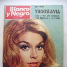 Coleccionismo de Revista Blanco y Negro: REVISTA BLANCO Y NEGRO Nº 2919 13 DE ABRIL 1968. TERESA GUIMPERA. SOCIALISMO EN YUGOSLAVIA. TDKR32. Lote 97985347