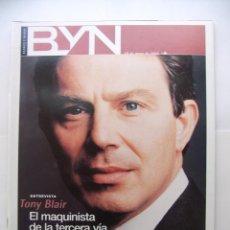 Coleccionismo de Revista Blanco y Negro: REVISTA BLANCO Y NEGRO. 28 DE MAYO AÑO 2000. TONY BLAIR. EL MAQUINISTA DE LA TERCERA VIA. TDKR32. Lote 97991711