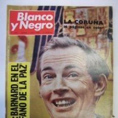 Coleccionismo de Revista Blanco y Negro: REVISTA BLANCO Y NEGRO Nº 2926. 1 JUNIO DE 1968. BARNARD EN EL QUIROFANO DE LA PAZ. TDKR43. Lote 98002815