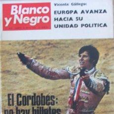 Colecionismo de Revistas Preto e Branco: BLANCO Y NEGRO 3030 1970 EL CORDOBES, EL VITI, LA ALHAMBRA, NEPAL, ANA HIGUERAS, MARIA FELIX. Lote 98169835