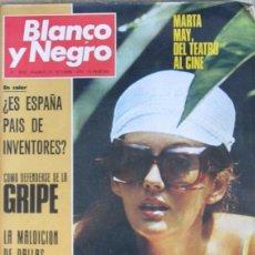 Coleccionismo de Revista Blanco y Negro: BLANCO Y NEGRO 3052 1970 MARTA MAY, SAN ISIDORO DE LEON, KENNEDY, GRIPE, AGATHA CHRISTIE, . Lote 98210907