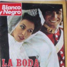 Coleccionismo de Revista Blanco y Negro: BLANCO Y NEGRO 3212 1973 ANA DE INGLATERRA, WALTER BONATTI, MARK SPITZ, MARISOL, BERGMAN. Lote 98211191