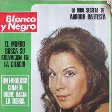 Coleccionismo de Revista Blanco y Negro: BLANCO Y NEGRO 3215 1973 AURORA BAUTISTA, COMETA KOHOUTEK, BECQUER, JOSE LUIS MORENO, FLORINDA CHICO. Lote 98211567