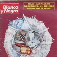 Coleccionismo de Revista Blanco y Negro: BLANCO Y NEGRO 3191 1973 BANCA ESPAÑOLA, ABU DHABI, MASO, NETZER, ANA BELEN, EXPLOSION DE RONDAS. Lote 98211879
