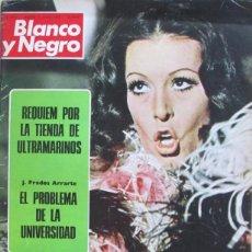 Coleccionismo de Revista Blanco y Negro: BLANCO Y NEGRO 3175 1973 MASSIEL, CHINA, SILVERIO FALCONETTI, PEDRO CARRASCO, RAFAEL ORTEGA. Lote 98212163