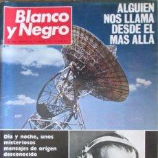 Collectionnisme de Magazine Blanco y Negro: BLANCO Y NEGRO 3060 1970 MENSAJES DESDE EL ESPACIO, CIUDAD DEL CABO, CINEMATOGRAFO, DECIMOS LOTERIA. Lote 98212871