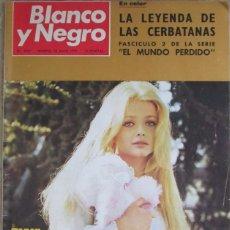 Coleccionismo de Revista Blanco y Negro: BLANCO Y NEGRO 3037 1970 EWA AULIN, BOEING 747. MUÑOZ GRANDES, STEVE MCQUEEN, TEATRO TAKARAZUKA. Lote 98301211