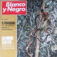 Coleccionismo de Revista Blanco y Negro: BLANCO Y NEGRO 3036 1970 PICASSO, EL PENTAGONO, IRLANDA, MALLIART, CANAL SEVILLA-BONANZA. Lote 98303859