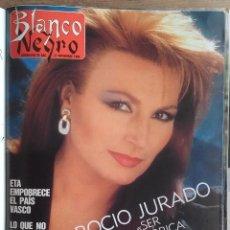 Coleccionismo de Revista Blanco y Negro: BLANCO Y NEGRO AÑOS 80,S - LOTE 9 REVISTAS Y TAPAS ORIGINALES . Lote 98375315