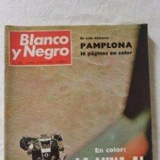 Coleccionismo de Revista Blanco y Negro: Nº 2980 REVISTA BLANCO Y NEGRO 14 JUNIO 1969 LA LUNA AL ALCANCE DE LA MANO. Lote 98887555
