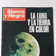 Coleccionismo de Revista Blanco y Negro: Nº 2958 REVISTA BLANCO Y NEGRO 11 ENERO 1969 LA LUNA Y LA TIERRA EN COLOR. Lote 98887619