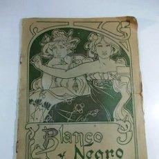 Coleccionismo de Revista Blanco y Negro: BLANCO Y NEGRO AÑO 1903. Lote 99077859