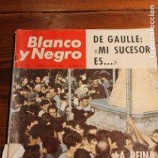 Coleccionismo de Revista Blanco y Negro: BLANCO Y NEGRO Nº 2770, 1965, LA REINA DE LAS MARISMAS, VIRGEN DEL ROCIO. Lote 109335644