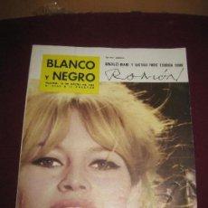 Coleccionismo de Revista Blanco y Negro: BLANCO Y NEGRO Nº 2646. 19 ENERO 1963. BRIGITTE BARDOT EN PORTADA. DALI EN NUEVA YORK.. Lote 103470907