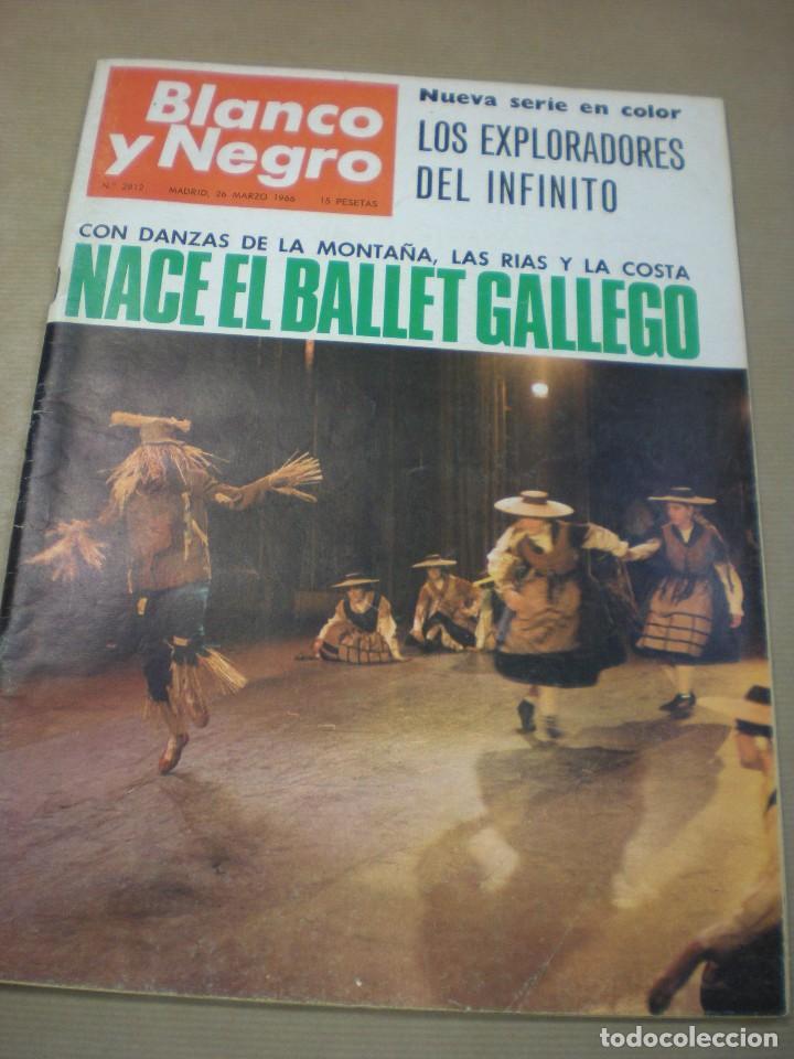 REVISTA BLANCO Y NEGRO Nº 2812- 26 MARZO 1966. (Coleccionismo - Revistas y Periódicos Modernos (a partir de 1.940) - Blanco y Negro)