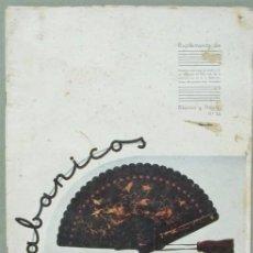 Coleccionismo de Revista Blanco y Negro: SUPLEMENTO BLANCO Y NEGRO Nº 34 ABANICOS. CONTIENE UNA LAMINA. PUBLICIDAD STARDART. Lote 104759447