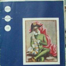 Coleccionismo de Revista Blanco y Negro: SUPLEMENTO DE BLANCO Y NEGRO Nº 14. MUECAS Y RISAS. CON LAMINA. PUBLICIDAD DE RELOJES MOVADO 1936. Lote 104759639