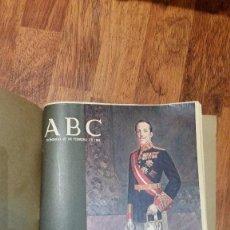 Coleccionismo de Revista Blanco y Negro: ALFONSO XIII ABC. Lote 105022631