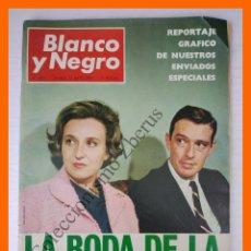 Coleccionismo de Revista Blanco y Negro: BLANCO Y NEGRO Nº 2871 - 13 MAYO 1967 - BODA INFANTA PILAR, PAPANDREU. Lote 106389999