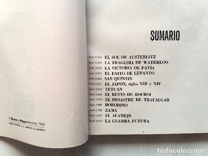 Coleccionismo de Revista Blanco y Negro: LAS GRANDES BATALLAS, 13 COLECCIONABLES BLANCO Y NEGRO ENCUADERNADOS 1968. CARLOS MARTINEZ DE CAMPOS - Foto 2 - 106638079