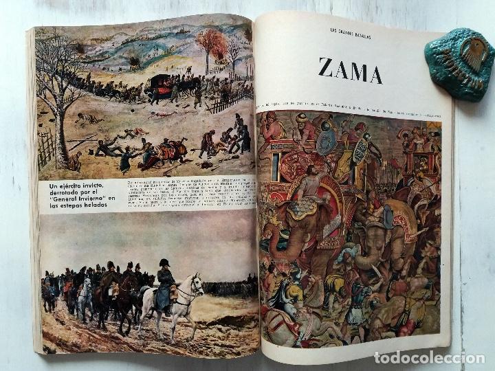 Coleccionismo de Revista Blanco y Negro: LAS GRANDES BATALLAS, 13 COLECCIONABLES BLANCO Y NEGRO ENCUADERNADOS 1968. CARLOS MARTINEZ DE CAMPOS - Foto 5 - 106638079