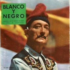 Coleccionismo de Revista Blanco y Negro: BLANCO Y NEGRO 2436 , AÑO 1959: DALI, FIDEL CASTRO, LUNIK,. Lote 109495699