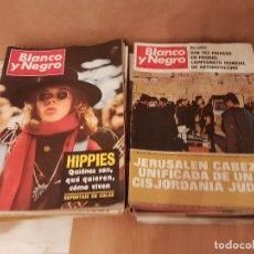 Coleccionismo de Revista Blanco y Negro: LOTE 54 REVISTAS BLANCO Y NEGRO ENTRE LOS AÑOS 1966-1969 VER DETALLES. Lote 109646423