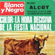Colecionismo de Revistas Preto e Branco: ALCOY EN LA REVISTA BLANCO Y NEGRO EDITADA EN 1969. Lote 111472539