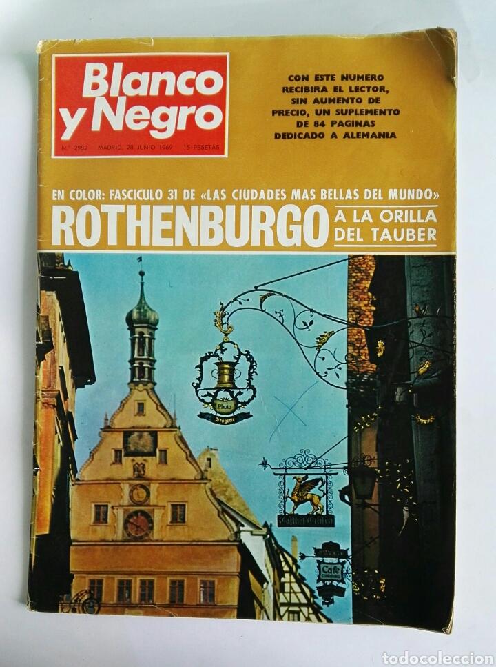 BLANCO Y NEGRO JUNIO 1969 N° 2982 (Coleccionismo - Revistas y Periódicos Modernos (a partir de 1.940) - Blanco y Negro)
