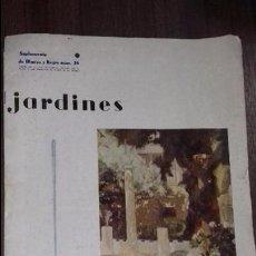 Coleccionismo de Revista Blanco y Negro: SUPLEMENTO DE BLANCO Y NEGRO. Nº 26. JARDINES. JARDIN DE LA CASA DE SOROLLA., PINTADO POR EL MISMO.. Lote 113063755