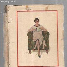 Coleccionismo de Revista Blanco y Negro: REVISTA BLANCO Y NEGRO. ALMANAQUE PARA 1928. UNA ASIDUA LECTORA.. Lote 113468559