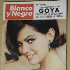 Coleccionismo de Revista Blanco y Negro: REVISTA BLANCO Y NEGRO Nº 2897 AÑO 1967. CLAUDIA CARDINALE, GOYA: LOS FUSILAMIENTOS. Lote 113517031