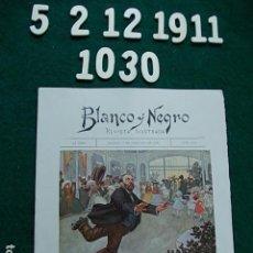 Coleccionismo de Revista Blanco y Negro: REVISTA ILUSTRADA BLANCO Y NEGRO MADRID 1.911 5 DE FEBRERO Nº 1030. Lote 113560115