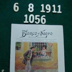 Coleccionismo de Revista Blanco y Negro: REVISTA ILUSTRADA BLANCO Y NEGRO MADRID 1.911 6 DE AGOSTO Nº 1056. Lote 113561103