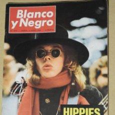 Coleccionismo de Revista Blanco y Negro: REVISTA BLANCO Y NEGRO 2915 1968. CASTILLO DE LA MOTA. INFORME URGENTE SOBRE LOS HIPPIES.. Lote 113624351