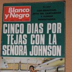 Coleccionismo de Revista Blanco y Negro: BLANCO Y NEGRO 2923, MAYO 1968. PALESTINA, KIESINGER. SAN SEBASTIAN. ALCOY MOROS Y CRISTIANOS. Lote 113627963