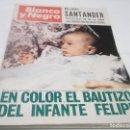 Coleccionismo de Revista Blanco y Negro: BLANCO Y NEGRO - Nº 2911.FEBRERO 1968 - BAUTIZO INFANTE FELIPE (REY ESPAÑA )- PUEBLO DE HONTANILLAS. Lote 115137491