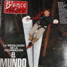 Coleccionismo de Revista Blanco y Negro: REV.BLANCO Y NEGRO 1/1996.-BILL GATES,BRAD PITT,JAVIER RUIZ-PINTOR-ANTHONY QUINN,ZIMBABWE,. Lote 115308772