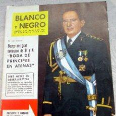 Coleccionismo de Revista Blanco y Negro: REVISTA BLANCO Y NEGRO. Nº 2600 DE 3 DE MARZO DE 1962 GRAL MIGUEL YDIGORAS Y FIDEL CASTRO. Lote 115934163