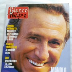 Coleccionismo de Revista Blanco y Negro: BLANCO Y NEGRO. SEMANARIO DE ABC. MANOLO ESCOBAR. SEVERIANO BALLESTEROS. Lote 118339184