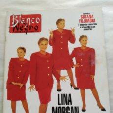 Coleccionismo de Revista Blanco y Negro: BLANCO Y NEGRO. SEMANARIO DE ABC. LINA MORGAN. SILVESTER STALLONE. Lote 118339574